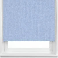 Azure Blue Roller Blinds, Made to Measure Blackout Roller Blinds