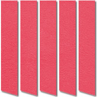 Nairobi Candy Girl Suede Vertical Blinds