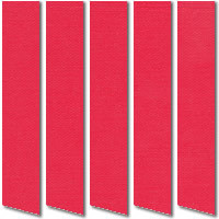 Bright Red Vertical Blinds Colourful, Made to Measure Blinds