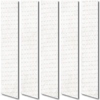 Palermo White Cheap Vertical Blinds