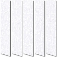Cheap Made to Measure Vertical Blinds, Snow White Texture Fabric