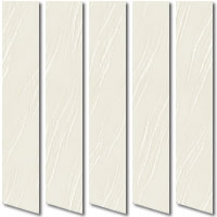 Cheap Textured Cream Vertical Blinds, Discount Made to Measure UK