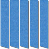Cobalt Blue Vertical Blinds, Made to Measure Vertical Blinds