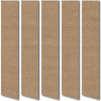 Light Brown Suede Vertical Blinds Luxury Coffee Faux Suede