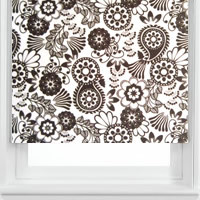 Striking Contemporary Black & White Luxury Roller Blinds
