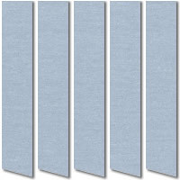 Cornflower Blue Vertical Blinds, Quality Made to Measure