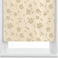 Taffeta Flowers Cream