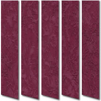 Iceberg Berry Red Orange Vertical Blinds
