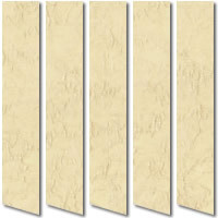 Iceberg Biscuit Yellow Vertical Blinds