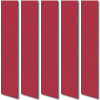 Dark Cerise Vertical Blinds, Fabulous Colourful Lollipop Red Slats