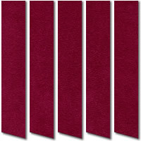 Deep Red Suede Vertical Blinds Gorgeous Rich Red Suede Fabric