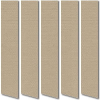 Gala Hessian Brown Vertical Blinds