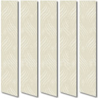 Patterned Sandy Cream Vertical Blinds, High Quality Vertical Blinds