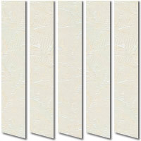 Iberis Ivory Cream Vertical Blinds
