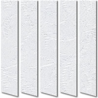 Iberis Frost White Vertical Blinds