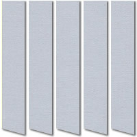 Light Grey Vertical Blinds, High Quality Made to Measure Slats