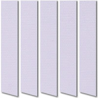 Pastel Lilac Waterproof PVC Vertical Blinds, Wipe Able Washable