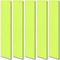 Lime Green Blackout Vertical Blinds, Made to Measure