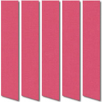 Lipstick Pink Vertical Blinds, Wonderfully Vibrant & Pretty Fabric