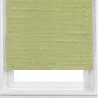 Warm & Soothing Natural Olive Green Roller Blinds
