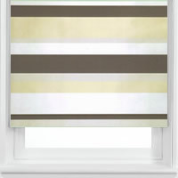 Luxury Thermal Made to Measure Striped Patterned Blackout Blinds