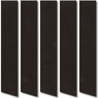 Almost Black Suede Vertical Blinds Luxury Dark Chocolate Fabric