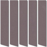Aubergine Mauve Blackout Vertical Blinds, Made to Measure