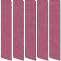 Merlot Light Purple Blackout Vertical Blinds, Luxury Thermal Fabric