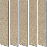 Mocha Brown Suede Vertical Blinds Creamy Mocha Blackout Fabric