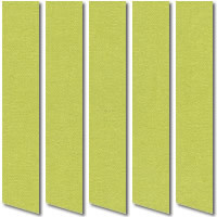 Moss Green Blackout Vertical Blinds, Luxury Grass Green Fabric
