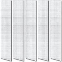 Organic White Vertical Blinds, Rustic & Textured Louver Fabric
