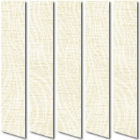Oyster Beige Vertical Blinds Printed & Woven Texture Fabric