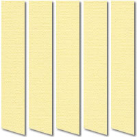 Plain Pale Yellow Vertical Blinds, Quality Made to Measure Blinds