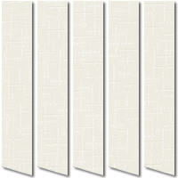 Cream Beige Patterned Vertical Blinds, Cheap Made to Measure Blinds