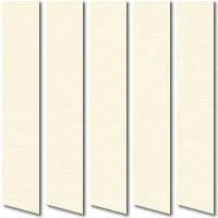 Plain Cream Vertical Blinds, Wonderful Butter Cream Vertical Slats