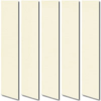 Rainbow Ivory Cream Vertical Blinds