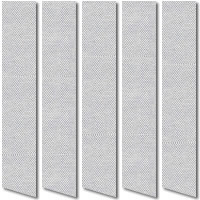 Silkscreen Steel Black Grey Vertical Blinds