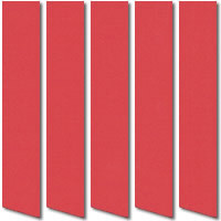 Rainbow Strawberry Red Orange Vertical Blinds