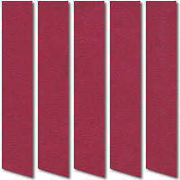 Nubuck Suede Berry Red Vertical Blinds, Quality Made to Measure