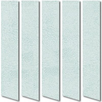 Luxury Suede Light Blue Vertical Blinds, Made to Measure
