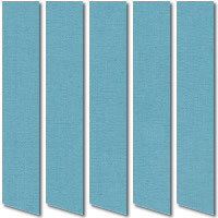 Summer Blue Vertical Blinds, Quality Rich Baby Blue Vertical Fabric