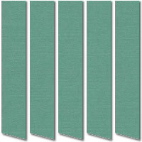 Teal Aqua Green Vertical Blinds, Wonderful Blue Green Louver Fabric