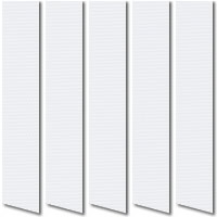 White Waterproof Vinyl PVC Vertical Blinds, Made to Measure