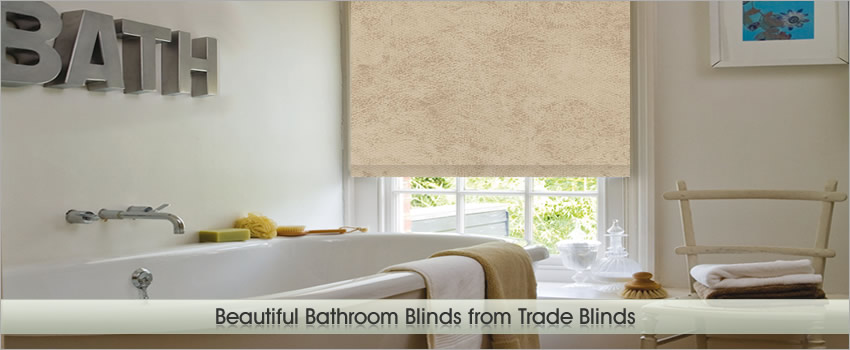 Bathroom Blinds by Trade Blinds