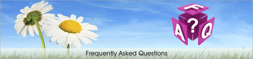 Frequently Asked Questions FAQ's