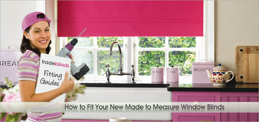 How to Fit Made to Measure Window Blinds