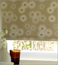 how to clean cream roller blinds