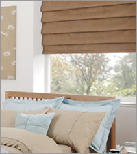 Bedroom Roman Blind