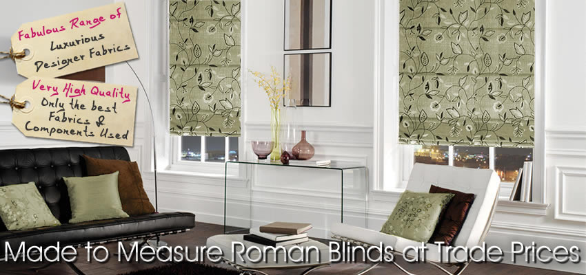 Roman Blinds Made To Measure Trade