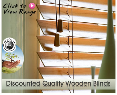 Discount Made to Measure Wooden Blinds